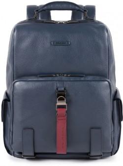 """MODUS Restyling/Blue Рюкзак с отдел. д/ноутбука 14""""/iPad с RFID защитой (33x40x19,5)"""