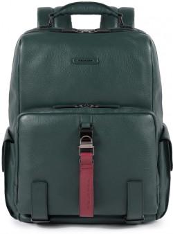 """MODUS Restyling/Green Рюкзак с отдел. д/ноутбука 14""""/iPad с RFID защитой (33x40x19,5)"""