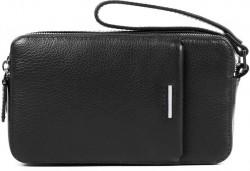 MODUS/Black Сумочка-клатч с 2 отдел. на молнии (21x12x5)