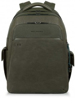 """BK SQUARE Bagmotic/Green Рюкзак с отдел. д/ноутбука 15""""/iPad Air/Pro с USB/microUSB/бирка CONNEQU ("""