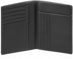 URBAN/Black Портмоне верт. с отдел. для 9 кред.карт с RFID защитой (9,5x12,5x1)