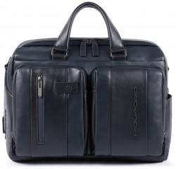 "URBAN/Blue Портфель двуручн. с отдел. д/ноутбука 15,6""/iPad Air/Pro с брелком CONNEQU (41x30x19)"
