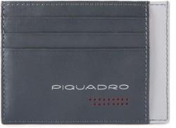 URBAN/Grey-Black Кредитница с RFID защитой (11x8x0,5)