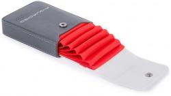URBAN/Grey-Black Кредитница верт. с RFID защитой (7x10,5x2)