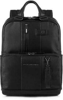 """BRIEF/Black Рюкзак двуручн. с отдел. д/ноутбука 15,6""""/iPad Air/Pro с брелком CONNEQU (31x40,5x16)"""
