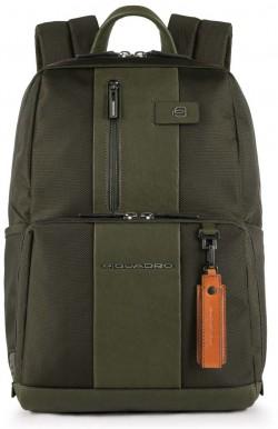 "BRIEF/Green Рюкзак с отдел. д/ноутбука 14""/iPad Air/Pro с брелком CONNEQU (29x38,5x15)"