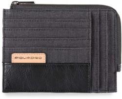 BLADE/Black Кредитница с отдел. для монет на молнии (12,5x9x1)