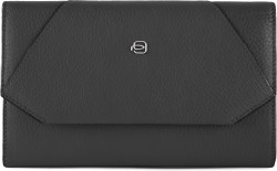 MUSE/Black Клатч с отдел. д/смартфона с RFID защитой (20x13x2)