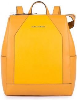 """MUSE/Yellow Рюкзак с отдел. д/ноутбука 11"""" (28x35x14,5)"""