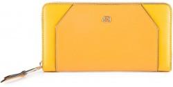 MUSE/Yellow Портмоне верт. на молнии с RFID защитой (19x10,5x2,5)