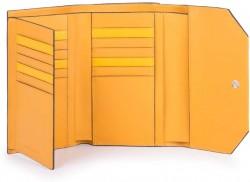 MUSE/Yellow Портмоне верт. с отдел. для 18 кред.карт с RFID защитой (10,5x15,5x3)