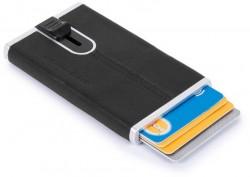 BK SQUARE/Black Кредитница с выдвижным механизмом с RFID защитой (6,2x10,5x1,2)