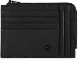 BK SQUARE/Black Кредитница с отдел. для монет на молнии с RFID защитой (12,5x9x1)