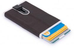 BK SQUARE/D.Brown Кредитница с выдвижным механизмом с RFID защитой (6,2x10,5x1,2)