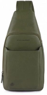 BK SQUARE/Green Монорюкзак с отдел. д/iPad (20x39x10)