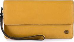 BK SQUARE/Yellow Клатч с отдел. д/смартфона с RFID защитой (10,5x19x2)