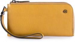 BK SQUARE/Yellow Клатч с отдел. д/смартфона с RFID защитой (20x9,5x1,5)