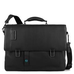 """PULSE/Black Портфель с отдел. д/ноутбука 15,6""""/iPad Air/Pro (43x33x10,5)"""