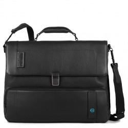 """PULSE/Black Портфель с отдел. д/ноутбука 15,6""""/iPad Air/Pro (41,5x32x11)"""