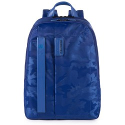 """PULSE/CamoBlue Рюкзак с отдел. д/ноутбука 13"""" и биркой CONNEQU (30,5x40x12,5)"""