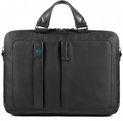 "PULSE/ChevronBlack Портфель двуручн. с отдел. для ноутбука 15,6""/iPad (41x29x10)"