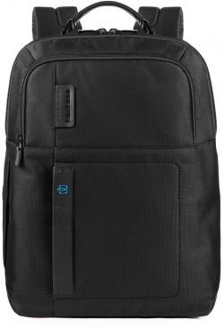 """PULSE/ChevronBlack Рюкзак с отдел. для ноутбука 15,6""""/iPad Pro/iPad Air с биркой CONNEQU (32x44x16)"""