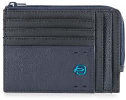 PULSE/ChevronBlue Кредитница с отдел. для монет на молнии (12,5x9x1)