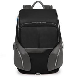 "COLEOS/Black Рюкзак бол. с отдел.д/ноутбука 17""/iPad/iPad Air/Air2 с чехлом от дождя (36x46x19,5)"