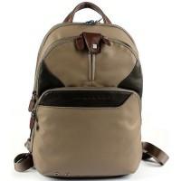 COLEOS/Taupe Рюкзак складной с отдел. для iPad с чехлом и накидкой (27x36x14,5)