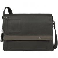 VIBE/Grey-Taupe Сумка с отдел. д/ноутбука на ремне (40x30x11)