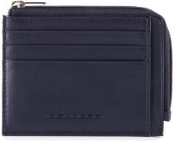 TAG/Blue Кредитница с отдел. для монет на молнии с RFID защитой (11,5x8x1)