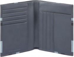 TAG/CheckBlack Портмоне верт. с отдел. для 9 кред.карт с RFID защитой (10x12x2)