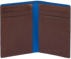 BOLD/D.Brown Кредитница верт. с RFID защитой (8x10,5x1,5)