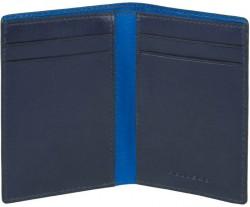 BOLD/Blue Кредитница верт. с RFID защитой (8x10,5x1,5)