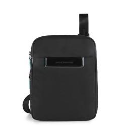 CELION/Black Сумка верт. наплечная с отдел. д/iPad mini (22x27x4,5)