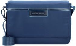 CELION/Blue Сумка наплечная с отдел. д/iPad (31x22x6)
