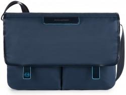 """CELION/Blue Сумка наплечная с отдел. д/ноутбука 13""""/iPad Pro/iPad mini (39,5x27x11,5)"""