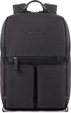 """TIROS/Black Рюкзак с отдел. д/ноутбука 14""""/iPad (31,5x43x18)"""
