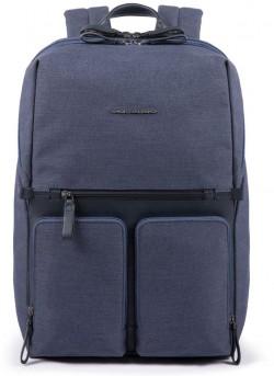 """TIROS/Blue Рюкзак с отдел. д/ноутбука 14""""/iPad (31,5x43x18)"""