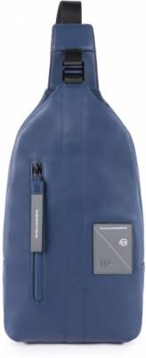 EXPLORER/Blue Монорюкзак с отдел. д/iPad mini (20x37x4,5)
