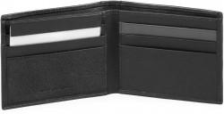 VANGUARD/Black Портмоне гориз. с отдел. для док. с RFID защитой (11x9x1,5)