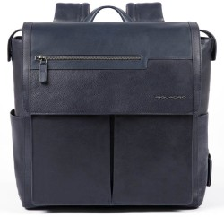 """VOSTOK Bagmotic/Blue Рюкзак с отдел. д/ноутбука 13""""/iPad с USB/micro-USB/антивор (35,5x37x12)"""
