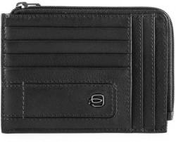 BAE/Black Кредитница с отдел. для монет на молнии с RFID защитой (12,5x9x1)