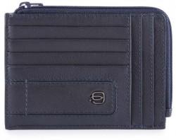 BAE/Blue Кредитница с отдел. для монет на молнии с RFID защитой (12,5x9x1)