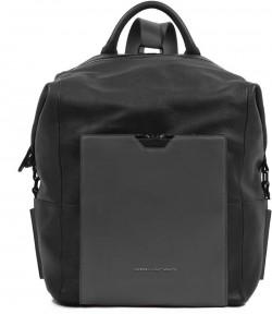 """PRISMA/Black Сумка-рюкзак верт. с отдел. для ноутбука 14""""/iPad (28,5x35x18)"""