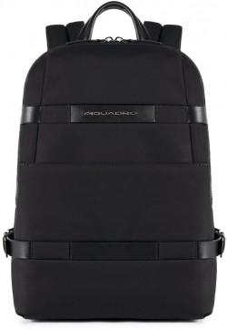 """PIERRE/Black Рюкзак с отдел. д/ноутбука 13""""/iPad Air/Pro (29x39x11)"""