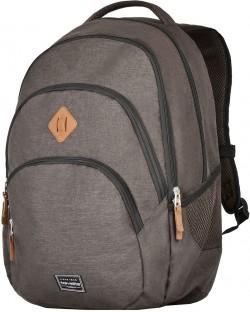 BASICS/Brown Рюкзак (22л,0,7кг) (31x45x16см)