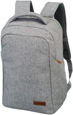 """BASICS/Grey Рюкзак Safety с отдел. д/ноутбука 15"""" (23л,0,7кг) (32x46x16см)"""