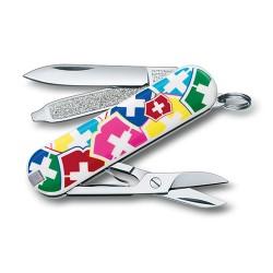 "CLASSIC SD ""VX Colors"" 58мм/1сл/7функ/цветн/чехол /ножн"