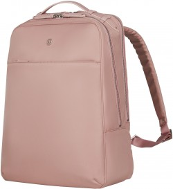"""VICTORIA 2.0/Rose Gold Рюкзак Deluxe Business с отдел. д/ноутбука 16""""/iPad (17л) (29x40x21)"""
